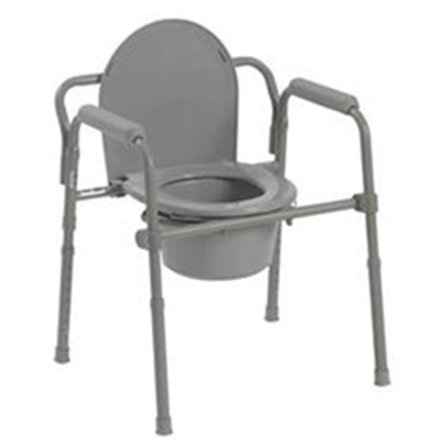 Image of Folding Steel Commode 495