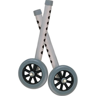 "Image of Extended Height 5"" Walker Wheels And Legs Combo Pack 2"