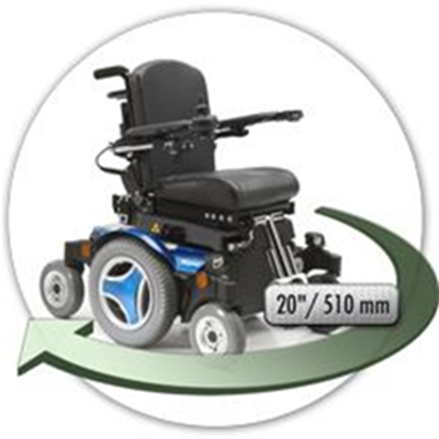 Image of M300 PS JR Mid Wheel Power Wheelchair 7
