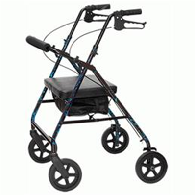 Image of Rollator (Walker with wheels and seat)