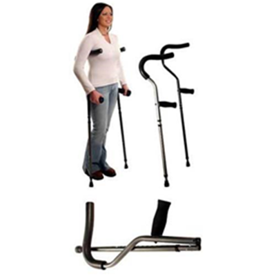 "Image of Millennial Crutches, Pair Underarm Fits 4'7""-5'7"" (Short) 2"