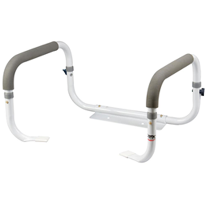 Image of Carex Toilet Support Rail  2