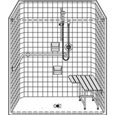 Image of Barrier Free Shower LCS26333A75BSRC