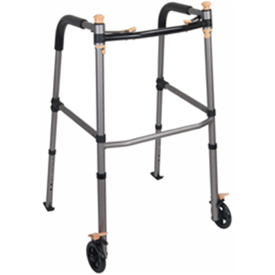 Image of Lift Walker With Retractable Stand Assist Bars 2