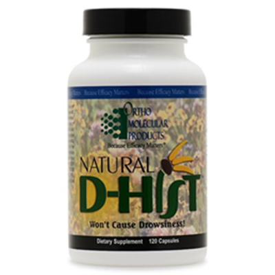 Image of Natural D-Hist Seasonal Allergy Treatment 1