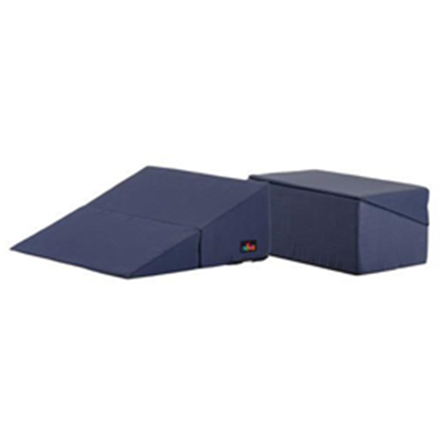"Image of 7.5"" Folding Bed Wedge Blue 2"