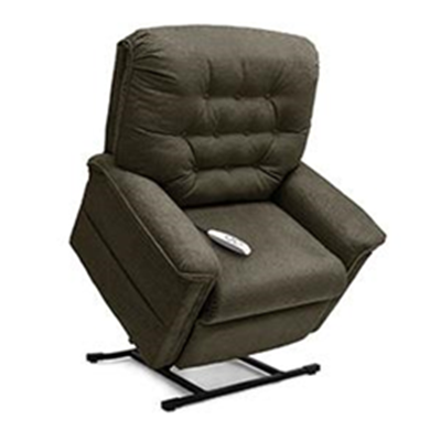 Image of Heritage Collection, 3-Position Full Recline, Chaise Lounger Lift Chair, LC 358PW 2