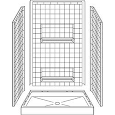 Image of Barrier Free Shower 4LRS4834