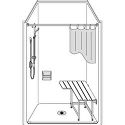 Image of Barrier Free Shower LSS4238A5B