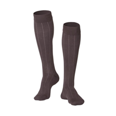 Image of 1012 TOUCH Men's Compression Ribbed Pattern Knee Socks 3