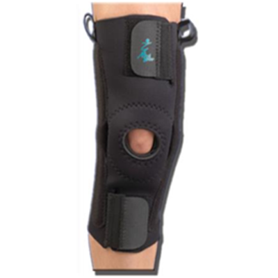 Image of AKS™ with Plastic Hinges - Neoprene Knee Support 2