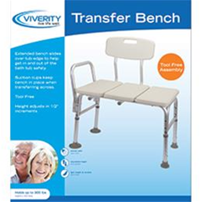 Image of Viverity Adjustable Transfer Bench