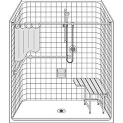 Image of Barrier Free Shower LCS6337A75T