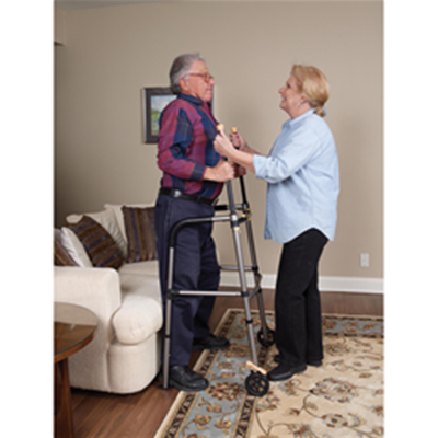 Image of Lift Walker With Retractable Stand Assist Bars 9