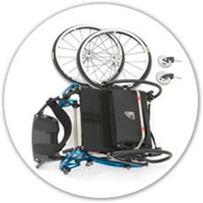 Image of Helium LSA Manual Wheelchair 9