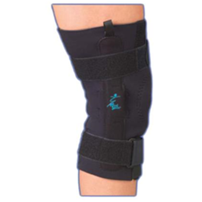 Image of AKS™ with Metal Hinges and Straps - Neoprene Knee Support 3