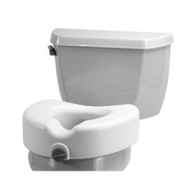 Image of Raised Toilet Seat - Clamp-On 2