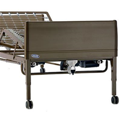 Image of Full Electric Bed Package with Solace Therapeutic Mattress and Full-Length Rails 2