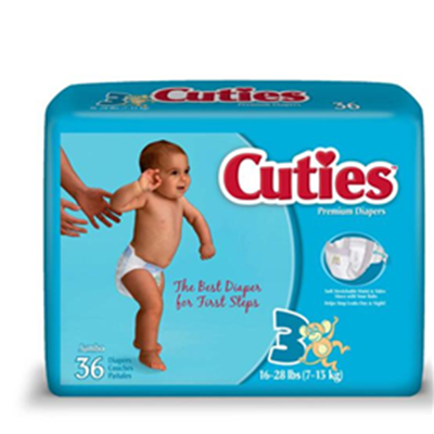 Image of CUTIE DIAPERS 2