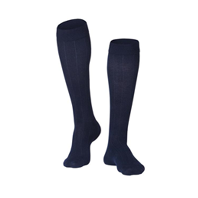 Image of 1012 TOUCH Men's Compression Ribbed Pattern Knee Socks 5