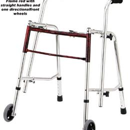 Drive Medical :: Glider Walker Std. Flame Red