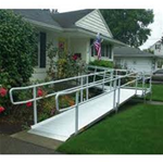 EZ-Access Aluminum Ramp - Designed to address the accessibility needs of the residential m