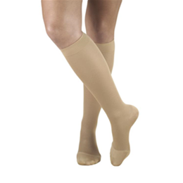 Airway Surgical :: 0373 TRUFORM Ladies' Opaque Knee High Closed-Toe Stockings