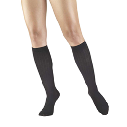 Airway Surgical :: 1973 TRUFORM Ladies' Compression Ribbed Pattern Knee High Sock