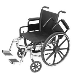 Image of Lightweight Wheelchair With Swing Away Foot Rests 1