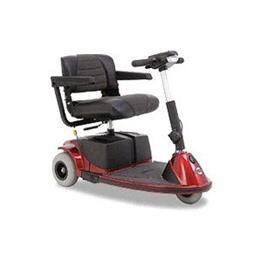 Scooters - Pride Mobility Products - Revo 3-Wheeled Scooter