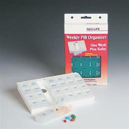 Aids to Daily Living - Acu-Life - Acu-Life® One Week Pill Organizer