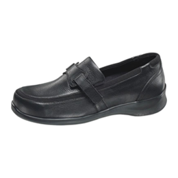 Diabetic Footwear - Aetrex - Apex Womens Casual Evelyn Black