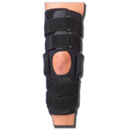 "Professional Orthopedic Products :: Gripper™ 16"" ROM Hinged Neoprene Knee Brace"