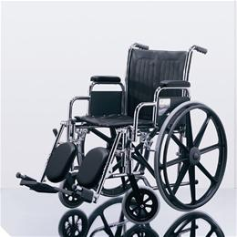 Medline :: WHEELCHAIR EXCEL MDS806100 NAVY UPHOL