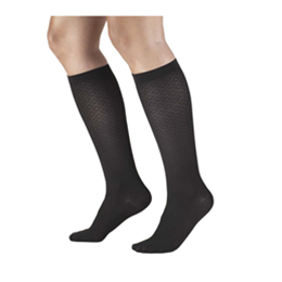 Airway Surgical :: 1976 TRUFORM Ladies' Diamond Pattern Knee High Sock