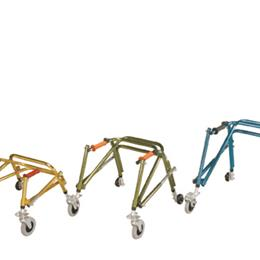 Drive Medical :: Walker Posterior Nimbo Ltwt. Junior  Lime Green