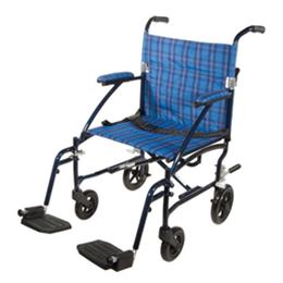 Image of Fly-Lite Aluminum Transport Chair 2