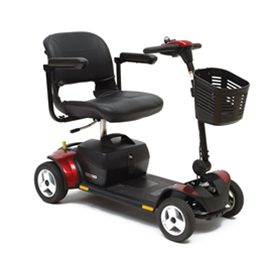 Pride Mobility Products :: Go-Go Elite Traveller® Plus 4-Wheeled Scooter
