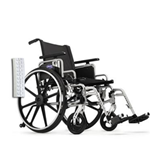 "Invacare Insignia 18"" x 18"" Frame w/Convertible, Adj Height Arms, Footrests and Flat-Free Tires Whee - The Invacare Insignia Whee"