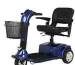 Golden Companion GC-340 - The Companion GC-340 scooter offers more legroom and foot room w