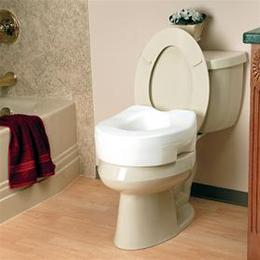 Invacare Raised Toilet Seat - Image Number 14310