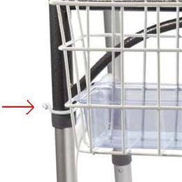 Image of Drive Folding Walker Basket