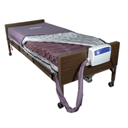 "Drive :: Drive Med-Aire Alternating Pressure Mattress Replacement System with Low Air Loss 36"" x 80"" x 8"""
