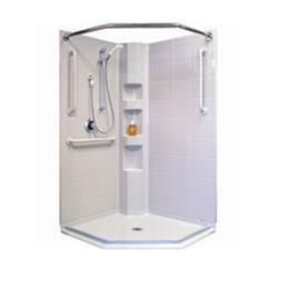 Best Bath Systems :: Best Bath Systems Neo Angle Shower