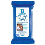 Comfort Bath Wipes - 