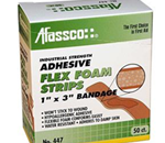 "Flex Foam, Strips, 1""x3"", Adhesive, 50 Bandages/Box - Perfect for use in the office or home, this versatile group c"