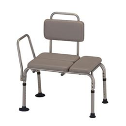 Nova Medical Products :: Padded Transfer Bench with Back
