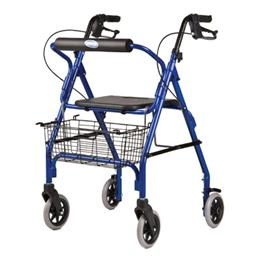 Image of Adult Rollator With Basket 1
