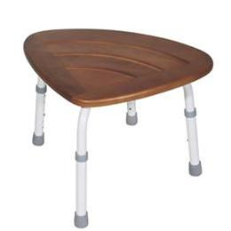 Drive :: K.D. Teak Adjustable Height Bath Stool