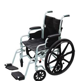 Drive :: Poly Fly Light Weight Transport Chair Wheelchair With Swing Away Footrest